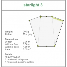 Lightwave Starlight 3 tarp