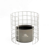 TOAKS Titanium Siphon Alcohol Stove with Wire Frame