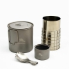 TOAKS Ultralight Titanium Alcohol Stove with 650ml Pot (CS-02)