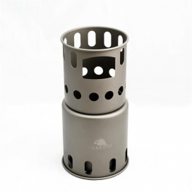 TOAKS Titanium Backpacking Wood Burning Stove - small