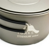 TOAKS Titanium 900ml Pot with 130mm Diameter