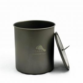 TOAKS LIGHT Titanium 750ml Pot without Handle