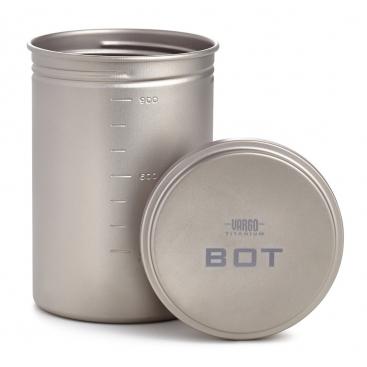 VARGO Titanium Bot - hrniec a fľaša v jednom