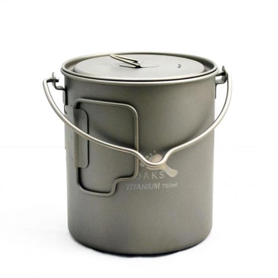 TOAKS Titanium 750ml Pot with bail handle