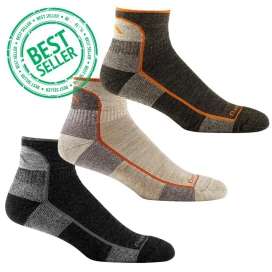 Darn Tough Hiker 1/4 Sock Cushion (1905) 3-Pack