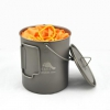 TOAKS Titanium Pot 750ml Pot with Bail handle