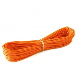 LAWSON EQUIPMENT Reflexné napínacie lanko na stan 3mm - Oranžové