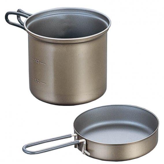 EVERNEW Ti Non-Stick Deep Pot 900 ml (ECA402)