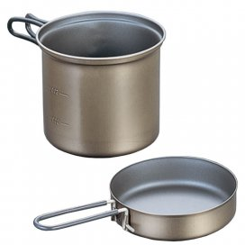 EVERNEW Ti Non-Stick Deep Pot 900 ml (ECA402)