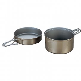EVERNEW Ti Non-Stick Pot DX3 1300 ml (ECA418)