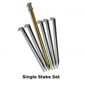 SIX MOON DESIGNS Set stanových kolíkov