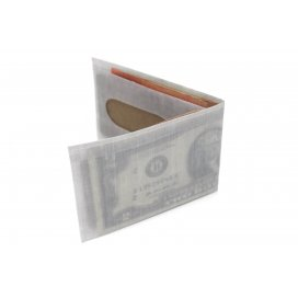 HAWBUCK Lean Wallet White