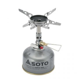 SOTO WindMaster Stove with Micro Regulator and 4Flex