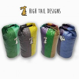 HIGH TAIL DESIGNS Medium Ultralight Roll-Top Stuff Sack