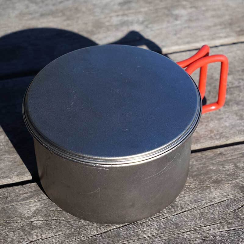 EBY277 From Japan EVERNEW Titanium Cup Lid 570Fd