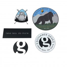 GOSSAMER GEAR Sticker Pack