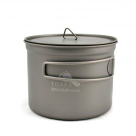 TOAKS Titanium 900ml Pot with 115mm Diameter