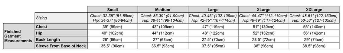 Torrid Apex Women's measurements