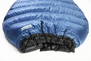 Katabatic Quilt style sleeping bag collar