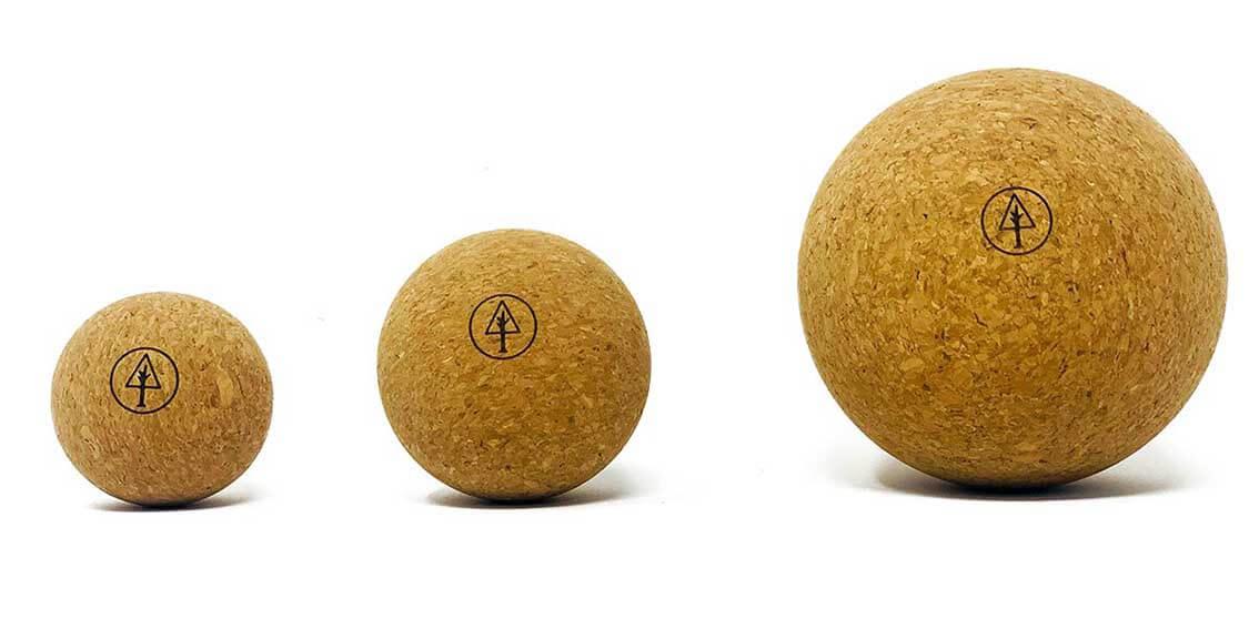 Rawlogy cork massage balls
