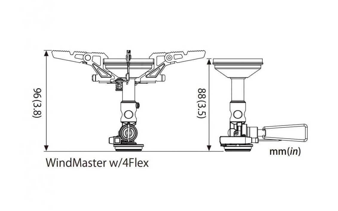 Soto Windmaster measurements