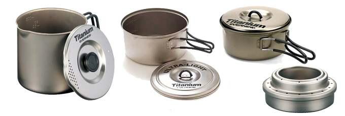 Evernew titanium pots