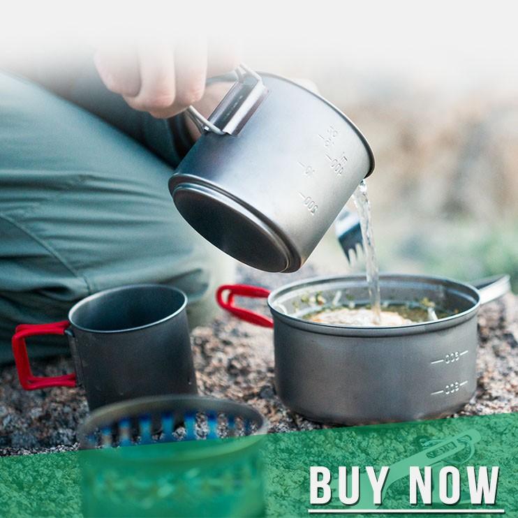 Titanium cookware