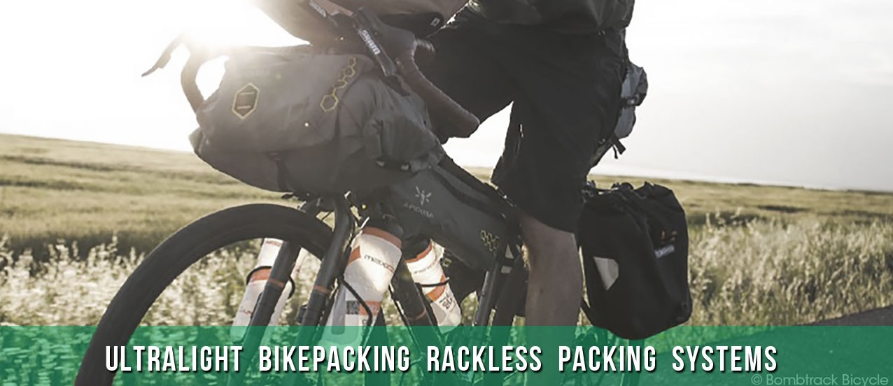 Apidura - ultralight rackless packing systems