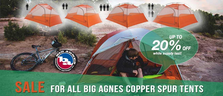 Big Agnes Copper Spur Sale