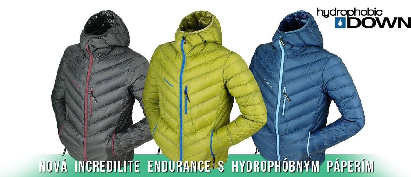 Incredilite Endurance s Hydrofóbnym páperím
