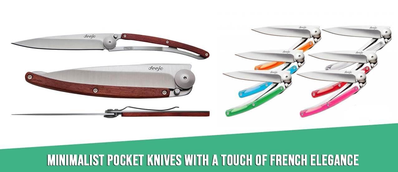 Deejo ultralight pocket knife