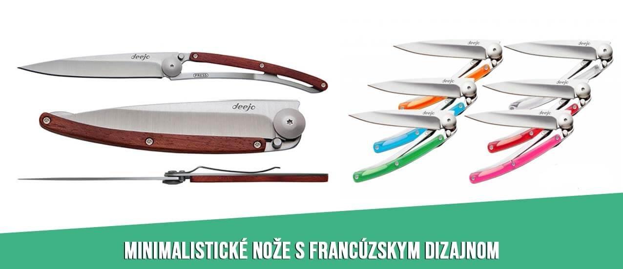 Deejo ultraľahké vreckové nože