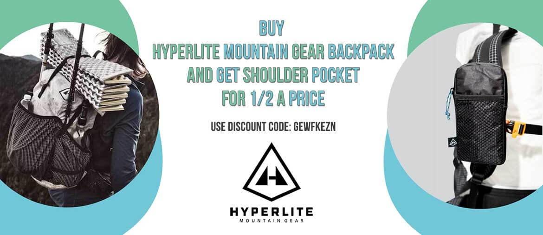 HMG backpacks + shoulder pocket
