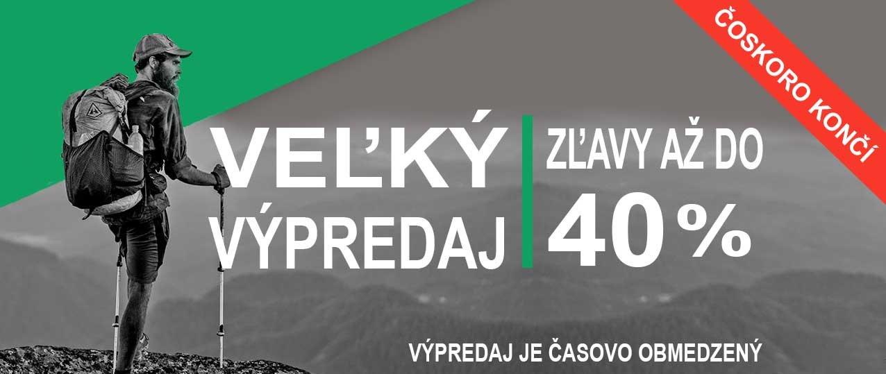 Veľký výpredaj na outdoorline.sk