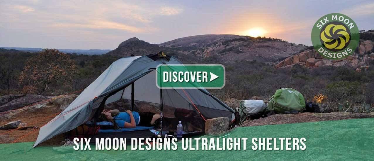 Six Moon Designs ultralight shelters