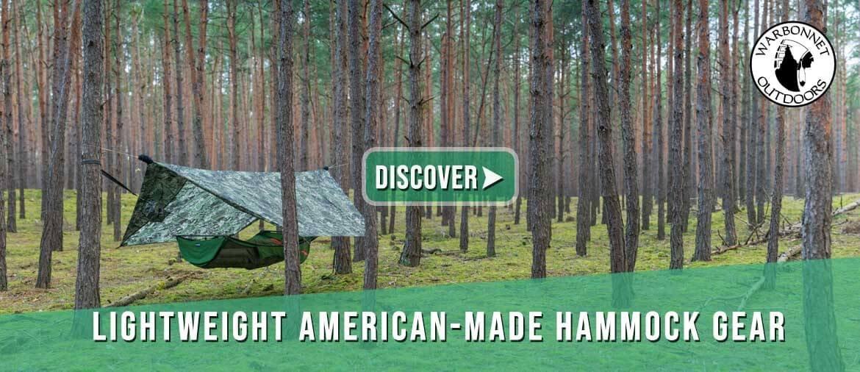 Warbonnet hammocks